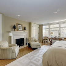 Washington DC Townhouse Master Bedroom 2