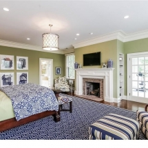 Country Home, Purchase New York, Master Bedroom B