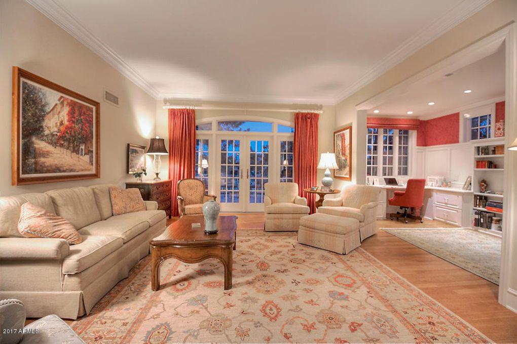Arizona Biltmore Home, Living Room C - Ellingson Interiors