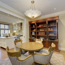 Washington DC Townhouse Breakfast Rm