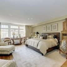 Washington DC Townhouse Master Bedroom