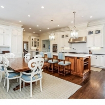 Country Home, Purchase New York, Kitchen Island