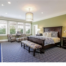 Country Home, Purchase New York, Master Bedroom A